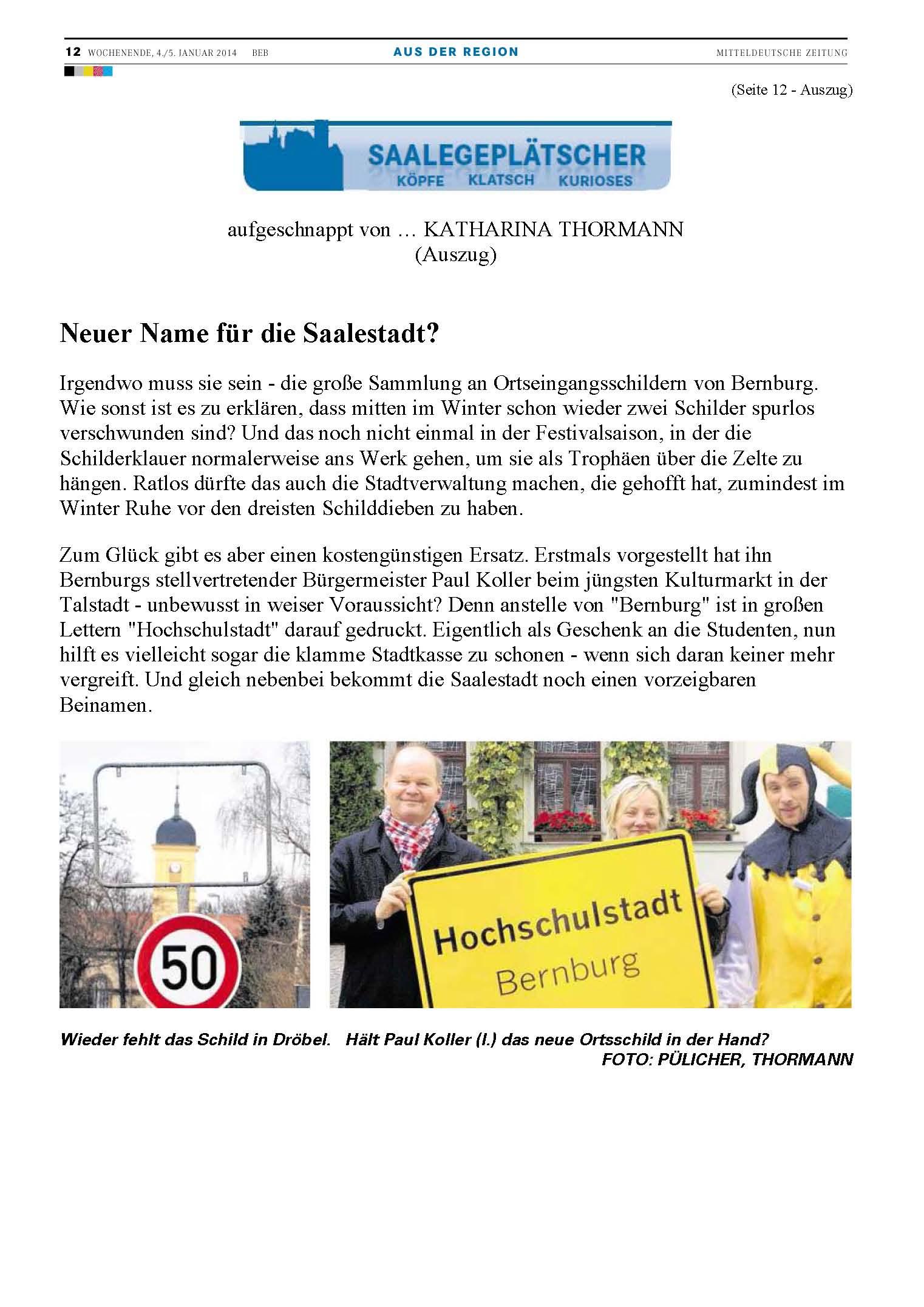Schild_Hochschulstadt_Saalegeplätscher