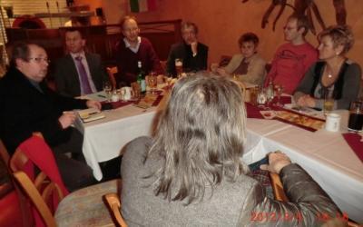 Teilnehmer Podiumsdiskussion am 5.3.2012 zum Verkauf der Salzlandkliniken